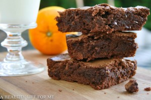 Blood Orange Brownies